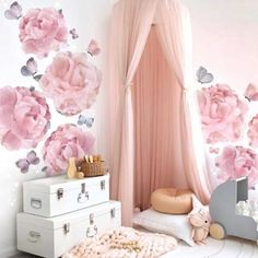 Unique 10 Layers Yarn Princess Bed Net Canopy- Pink - Unique 10 Layers Yarn Princess Bed Net Canopy- Pink – TYChomebed canopy boy,bed canopy girl,bed c - Boys Bed Canopy, Bed Net Canopy, Baby Canopy, Canopy Curtains, Canopies, Shower Curtains, Anna Wand, Girl Bedroom Walls, Bedroom Themes