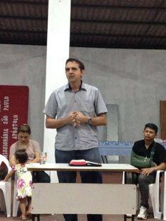 Nonato Castro, pregador do Primeiro Encontro de Casais do IMPF. Em: 26. Julho. 2014 Local: Comunidade Menino Jesus de Praga Bairro: Nova Cidade - Manaus.