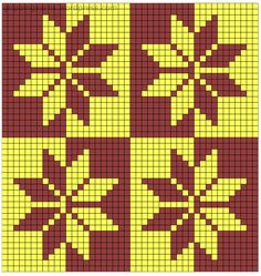 Esquemas tapesky - Crochet Esquemas Tapestry Crochet Patterns, Weaving Patterns, Mosaic Patterns, Crochet Stitches, Wiggly Crochet, Bead Crochet Rope, Graph Design, Chart Design, Graph Paper Art