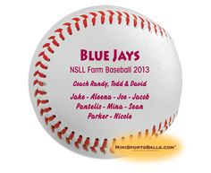 Baseballs for Awards, Trophies and Year End Banquets. Regulation size baseballs (not mini baseballs) with Synthetic Leather casing and red stitching.
