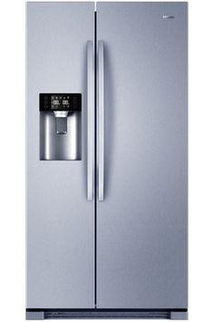 Haier HRF-665ISB2, Réfrigérateur à froid ventilé 375 L, Congélateur à froid ventilé 175 L, Volume 550 L - Dimensions HxLxP : 179x90.8x69 cm - A+, Distributeur eau fraîche, glaçons et glace pilée
