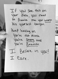Depression/Suicide/Self Harm Quotes I Love You All, You Are Beautiful, How Are You Feeling, My Love, Stop Bullying, All That Matters, My Demons, You Promised, Keep Fighting