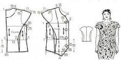 tipos de mangas de blusas - Buscar con Google