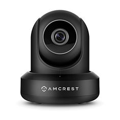 Amcrest UltraHD Wi-Fi Video Security IP Camera with Pan or Tilt, Dual Band in Black allows you to control the pan, tilt and zoom operations. Ip Security Camera, Video Security, Wireless Security Cameras, Security Surveillance, Surveillance System, Security Cameras For Home, Security Alarm, Camera Surveillance, Security Tips