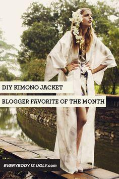 DIY Kimono Jacket: Blogger Favorite of the Month - Chictopia
