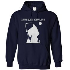 (Tshirt Deal Today) Live And Let Live Navy Blue [TShirt 2016] Hoodies, Tee Shirts