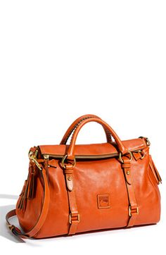 IN LOVE W/ Dooney & Bourke 'Florentine' Vachetta Leather Satchel