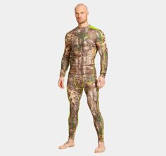 $74.99 shirt Men's UA ColdGear® Infrared Scent Control Evo Crew