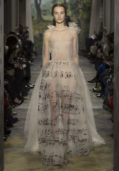 Musical Wedding Dress. You could put your favorite piece on it!  Gorgeous.