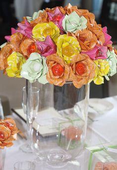 Lollipops and Paper Bouquet