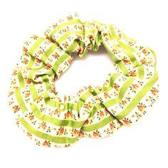 Floral Scrunchie-£3 #prettytwisted #accessories #scrunchie http://prettytwistedonline.co.uk/product/floral-scrunchie-4/
