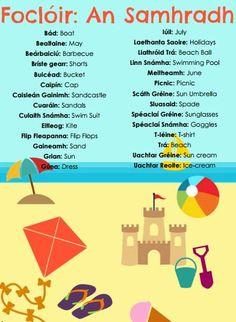 . Scottish Gaelic, Gaelic Irish, Irish Pride, Erin Ireland, Class Rules Poster, Irish Toasts, Gaelic Words, Irish Language, Art School