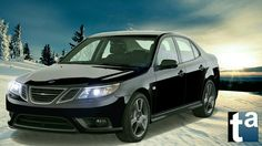 064 - WINTER DREAMS #Saab 9-3 Sedan Sport XWD Cross-Wheel Drive #Automotive