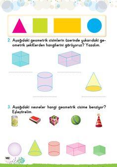 1. Sınıf Konu Anlatım EV ÇALIŞMALARI First Grade, Map, Books, Geometric Form, Shapes, Livros, Libros, First Class, Location Map