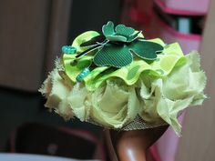 fourth view... St Patrick's Day Hair clip  http://cestla-viedesigns.blogspot.com/