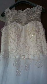 Wedding dress, ball gown size 18 20