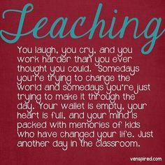 i love teaching <3