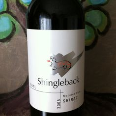 Shingleback 2005 Shiraz.  A great wine!