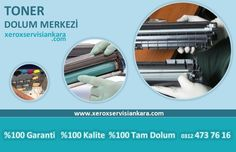 Xerox Toner Dolum Ankara