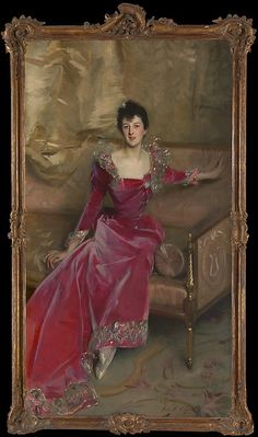 "John Singer Sargent (American, 1856–1925). Mrs. Hugh Hammersley, 1892. The Metropolitan Museum of Art, New York. Gift of Mr. and Mrs. Douglass Campbell, in memory of Mrs. Richard E. Danielson, 1998 (1998.365) | This work is in our ""Sargent: Portraits of Artists and Friends,"" on view through October 4, 2015."