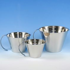 MEASURING CUP SET - STAINLESS STEEL