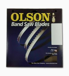 """Olson Wood Band Band Saw Blades 93-1//2/"""" inch x 3//8/"""" 4TPI 14/"""" Delta Grizzly JET"""