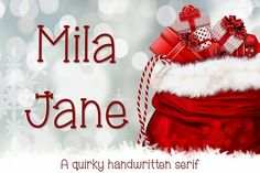 Mila Jane is a cute and quirky handwritten serif. Includes support for multiple European languages, a bonus ornaments file full of little doodles, and includes Great Fonts, All Fonts, Slab Serif, Serif Font, European Languages, Little Doodles, Premium Fonts, Business Card Logo, Free Design