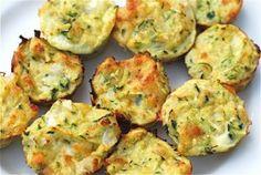 Savory Summer Zucchini BItes...easy hor d'oeurve