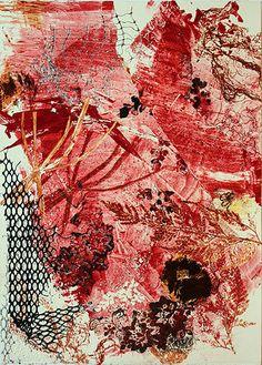 """Red"" Ana Pomar- Monotipos | GALERIA Artwork, Orchards, Impressionism, Abstract, Printmaking, Art, Work Of Art, Auguste Rodin Artwork, Artworks"