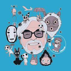 Hayao Miyazaki Tribute Studio Ghibli