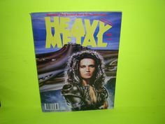 Heavy Metal Magazine Winter 1989, Hombre!  The Sexiest Man in the Universe!