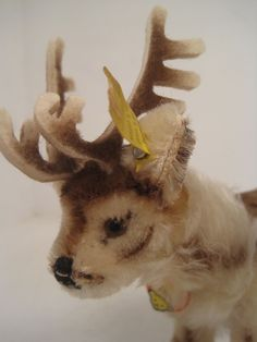 Steiff's Smallest Renny Reindeer With All IDs