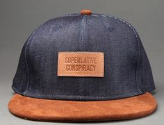 Denim Snapback Cap by WESC