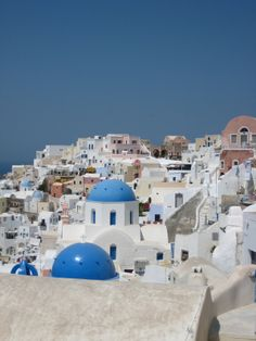 Take a Mediterranean Cruise to Santorini. The whole island looks like a postcard: #vacation #cruise #greece Visit transatlantic.travel or contact Eileen Schlichting to learn more!