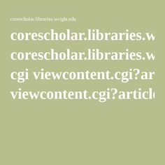 corescholar.libraries.wright.edu cgi viewcontent.cgi?article=1102&context=ejie