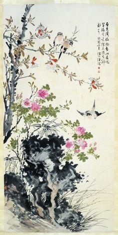 湖社画家作品欣赏(16)--汪慎生 -
