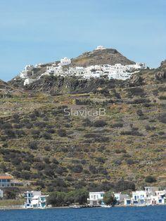 Greek island Hill