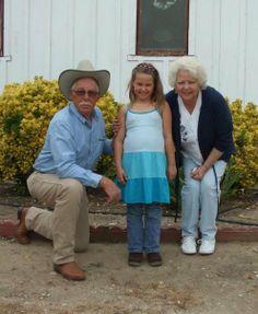 Pop, Lauren and Granny - May 2009