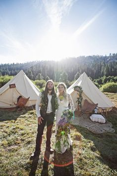 This Rad Couple Had A Music Festival Wedding In The Middle Of Nowhere