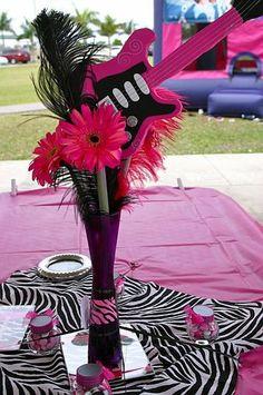 "Photo 1 of 30: Rock Star, Hannah Montana / Birthday ""Anna's Rockin' Bash!"" | Catch My Party"