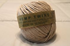 Hemp Twine  Natural  500 gram Natural Hemp Thick by CharmedinLove #craftingsupplies #hemp