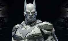 The Batman Beyond White Version Statue by Prime 1 Studio is available at Sideshow.com for fans of DC Comics Batman: Arkham Knight.
