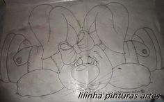 Catia Artes Manuais: RISCOS DE COELHOS