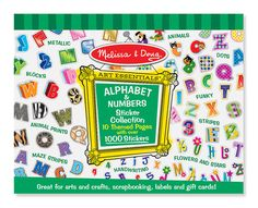 Alphabet & Numbers (Sticker Collection)