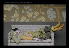 """Impression """"Iznik"""" Emery&Cie"""