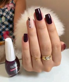 Simple Nails came super ideas Aycrlic Nails, Cute Nails, Hair And Nails, Stylish Nails, Trendy Nails, Acrylic Nail Designs, Nail Art Designs, Nagel Gel, Beautiful Nail Designs
