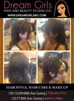 #updo #makeup #hairstyle #dreamgirlsbeauty #beautystudio #beautylounge