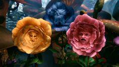 Alice in Wonderland directed by Tim Burton, 2010