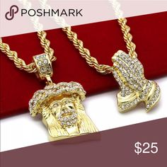 Rope Chains Measurements:  Width: 4mm - Length: 30 Sold to my boy.... lol Jewelry Necklaces