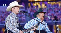 """Country Music Lyrics - Quotes - Songs George strait - George Strait and His Son, Bubba Strait Wow With """"Arkansas Dave"""" Performance - Youtube Music Videos https://countryrebel.com/blogs/videos/18072595-george-strait-and-his-son-bubba-strait-wow-with-arkansas-dave-performance-video"""
